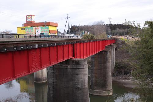 馬立~上総牛久間の第2養老川橋梁