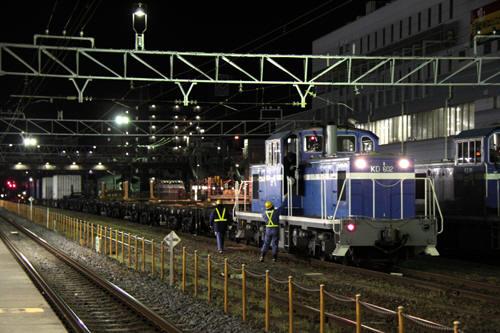 蘇我駅の5972列車のKD60 2