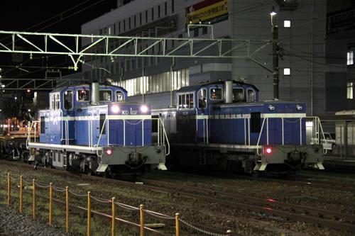 KD60 2とKD60 1の並び