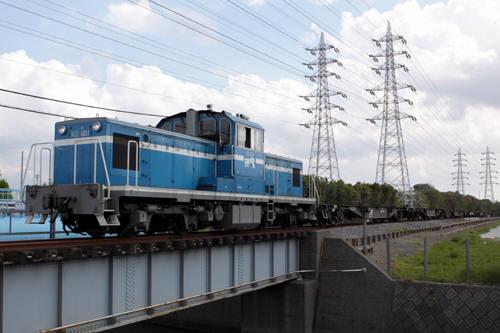 椎津~前川間の506列車のKD60 1