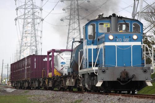 前川~椎津間の507列車のKD60 2