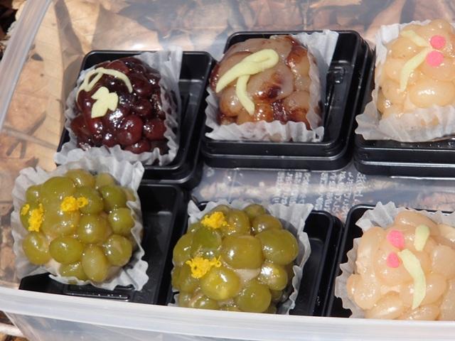 masuさんの和菓子