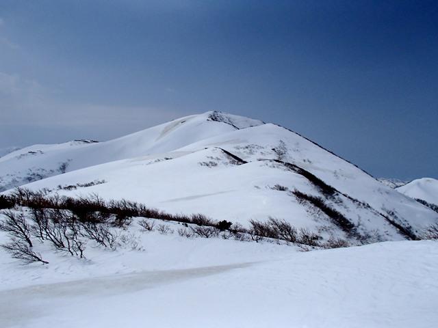 赤見堂岳山頂まであとわずか