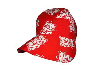 kids maneki tenugui hat