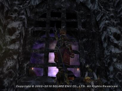 占有時間切れて闇王も消えたので、入口まで来れました♪