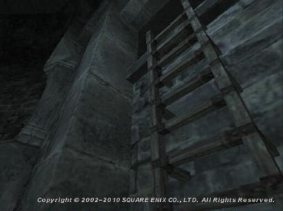 しとやかな傀儡 フォミュナ水道 C-9 Wooden Ladder
