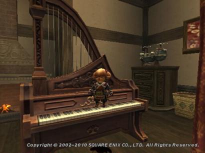 ピアノを足で弾くタルタル01