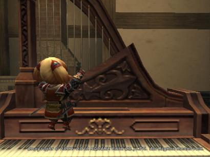 ピアノを足で弾くタルタル04
