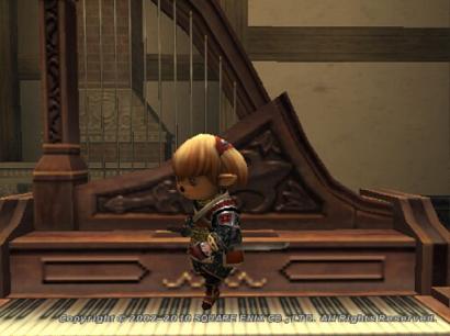 ピアノを足で弾くタルタル05