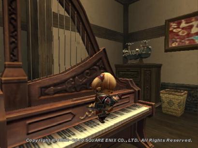 ピアノを足で弾くタルタル07