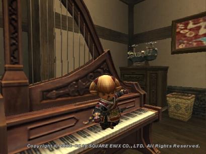 ピアノを足で弾くタルタル09