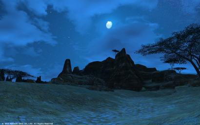 4日目 綺麗な夜空