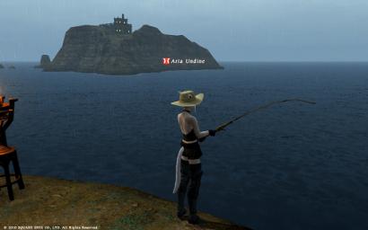 5日目 釣りをしながらお船を待つにゃ♪
