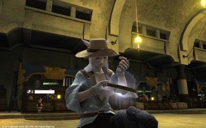 6日目 ちなみにこの麦わら帽子LSメンバーのセレさんに戴いたにゃ♪