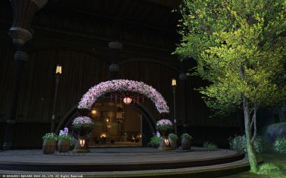 49日目 桜のアーチにゃ♪