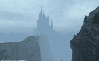 11日目未公開 遠くにお城が見えるにゃ