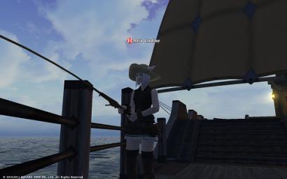 14日目未公開 お船の上で釣りするにゃ♪
