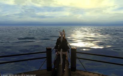 23日目未公開 海面に太陽が反射していい感じにゃね♪