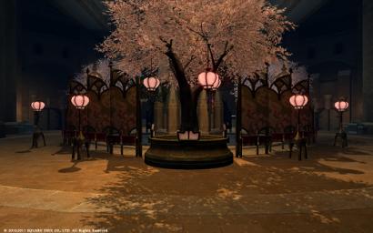 54日目未公開 ウルダハの桜にゃ