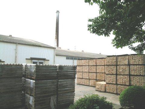 深谷の日本煉瓦製造工場 2006年6月撮影