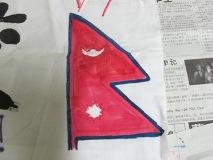 国旗(ネパール)