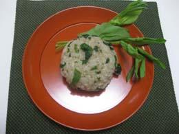 野草とアールグレイの炊き込みご飯