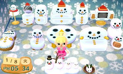 HNI_0014雪だるま部屋★