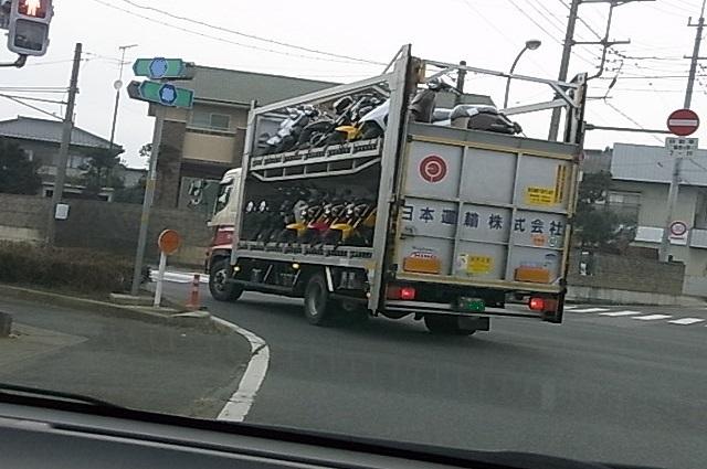 バイク運搬