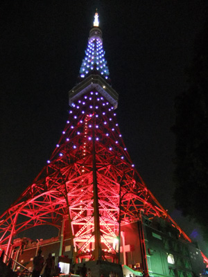 東京タワー~♪