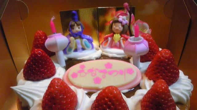 ひなケーキ♪