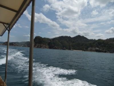 びゅんびゅん海の中へ