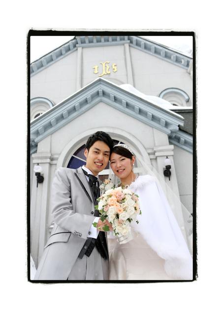 弘前 結婚式 挙式 教会 カトリック弘前教会 ウェディング ブライダル スナップ 写真 撮影 出張撮影 ロケーション撮影
