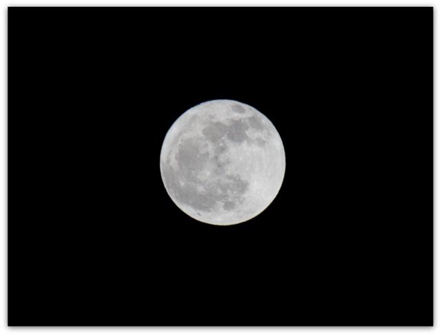 つき 月 ツキ MOON 弘前の空