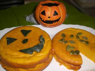 かぼちゃのケーキ4