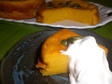 かぼちゃのケーキ2