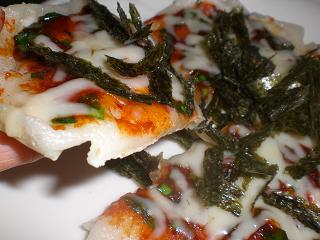 キムチピザ
