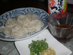 つゆ 素麺