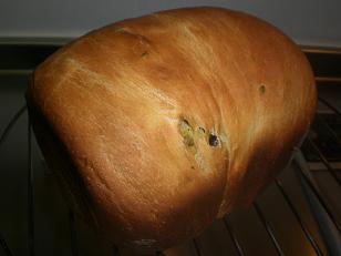 抹茶マーブルパン2