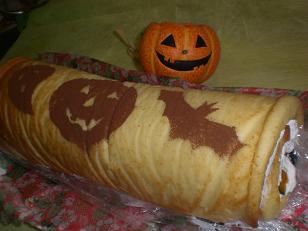 かぼちゃロール3