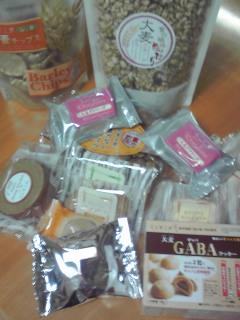 大麦お菓子