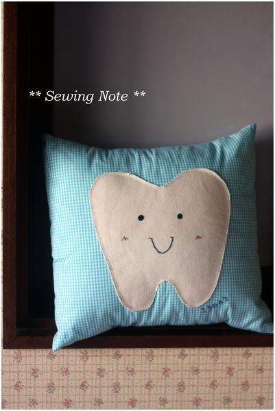 tooth pillow 表