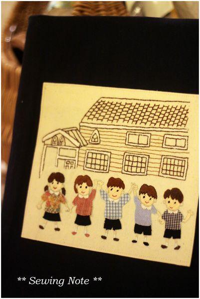 園児 刺繍