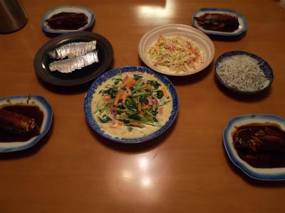 11.1夕食