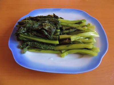 11.8野沢菜の漬物
