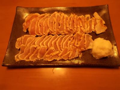 11.8鶏のタタキ