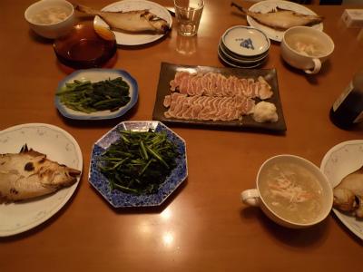 11.8夕食