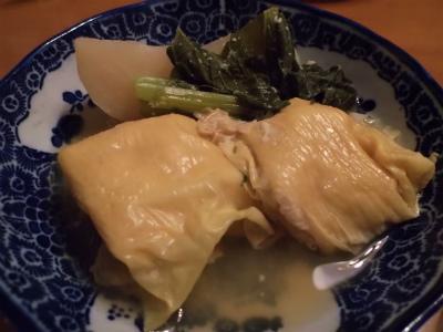 11.16大豆の湯葉包み煮