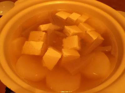 11.16湯豆腐