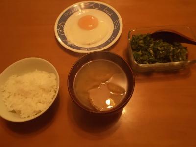 11.17侘しい朝食