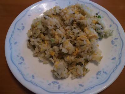 11.29野沢菜漬けチャーハン